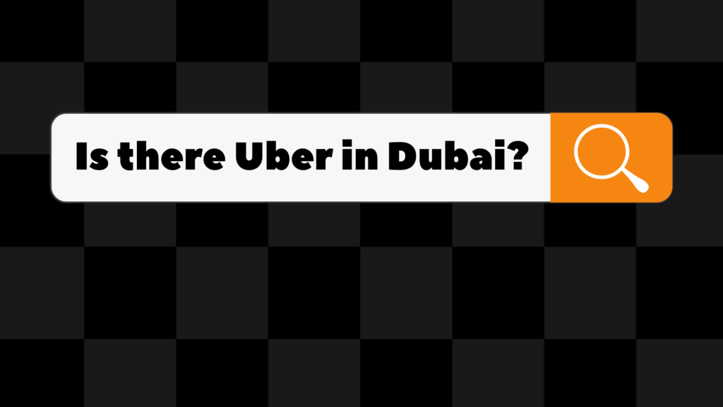 is there uber in dubai