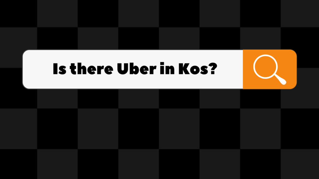 is there uber in kos
