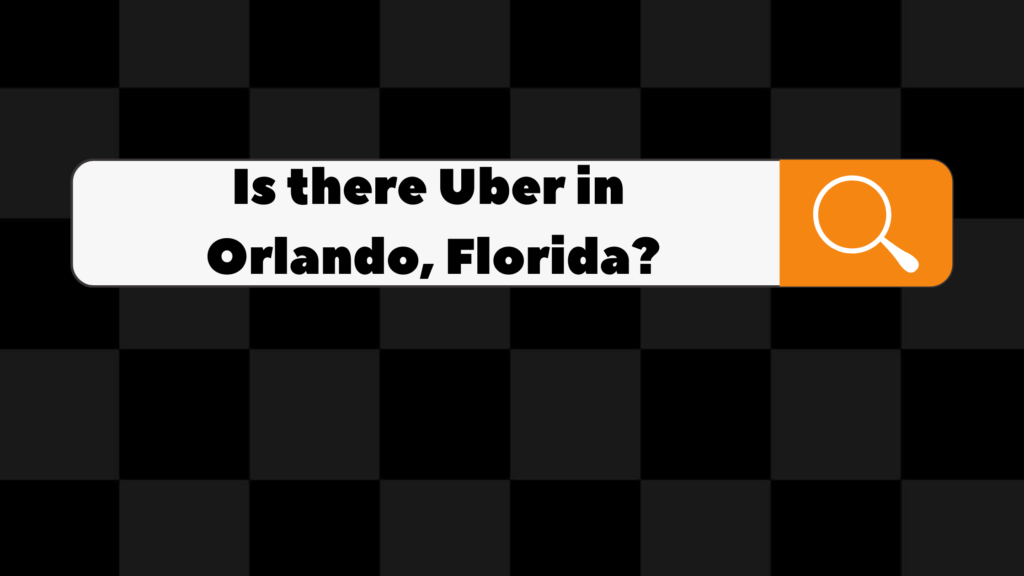 is there uber in orlando florida