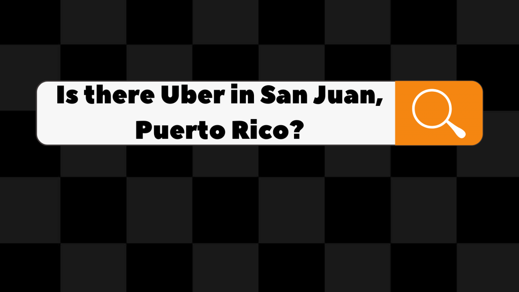 is there uber in san juan, puerto rico