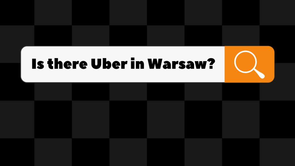 is there uber in warsaw